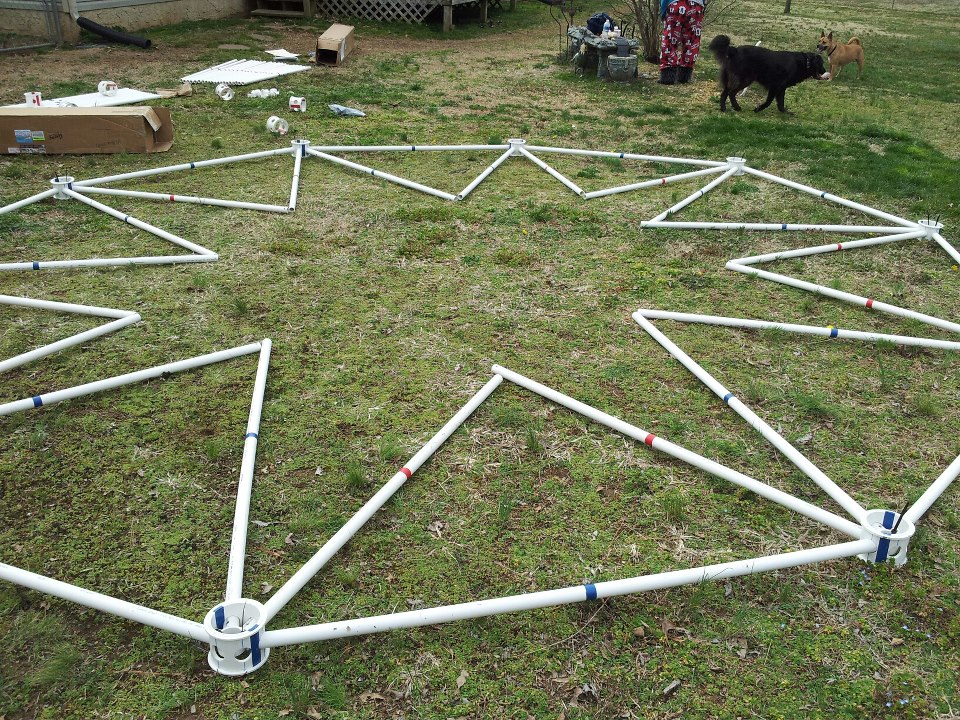 Geodesic Greenhouse Pvc Geodesic Greenhouse Kits Made